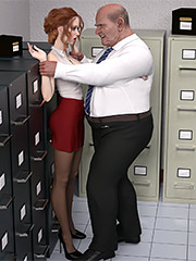 Quick sex in the workplace - Tessa work by Dark Lord